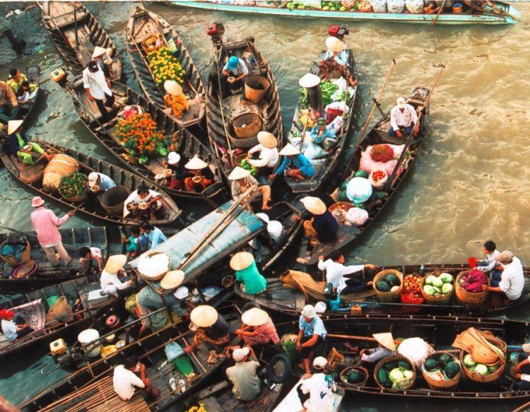 Chợ Nổi Long Xuyên An Giang